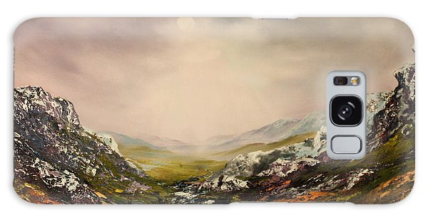 Snow On The Cairngorms Galaxy Case by Jean Walker