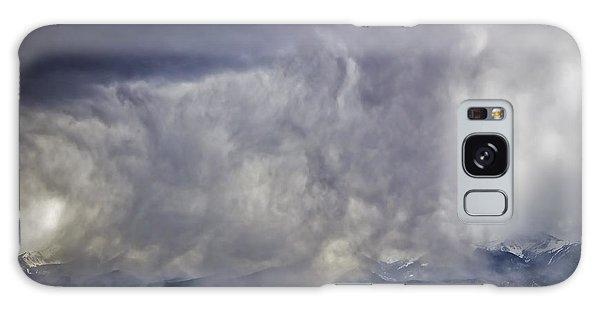 Snow On The Rockies Galaxy Case