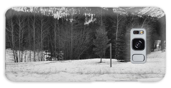 Snow Prints Galaxy Case