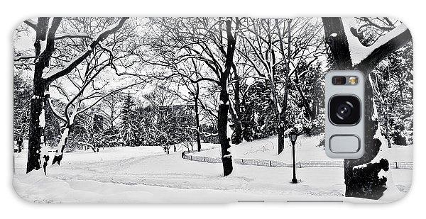 Snow Scene  Galaxy Case by Madeline Ellis