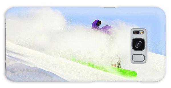 Snow Spray Galaxy Case by Theresa Tahara