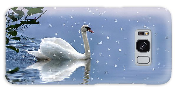 Snow Swan II Galaxy Case