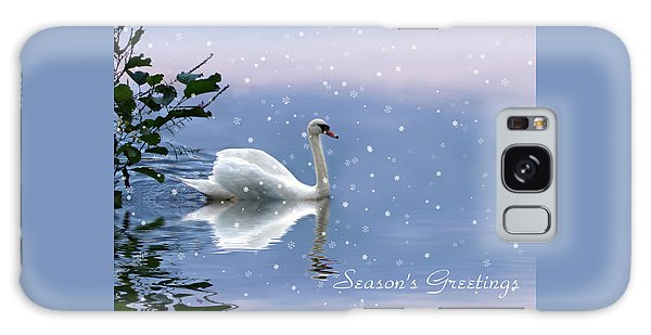 Snow Swan II Galaxy Case