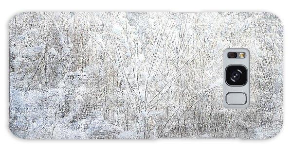 Snow Textures Galaxy Case