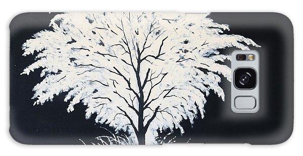 Snow Tree Galaxy Case