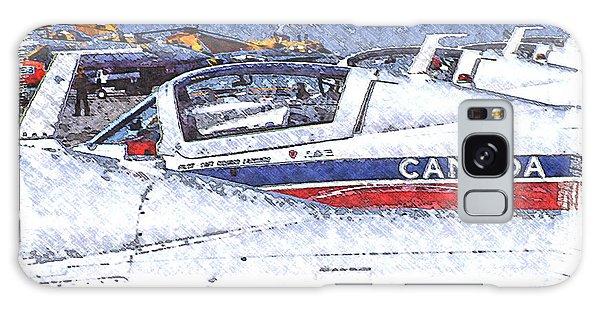 Snowbirds Galaxy Case by Richard Farrington