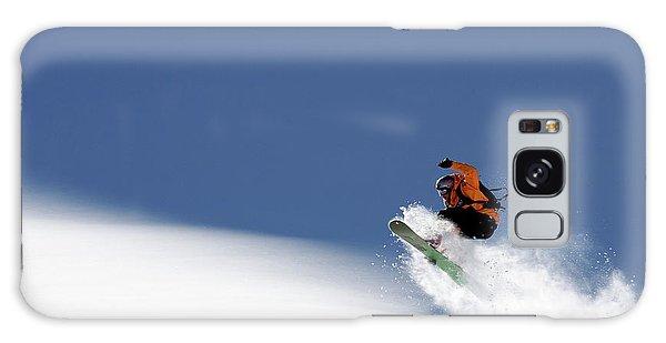 Jump Galaxy Case - Snowboarder by Evgeny Vasenev