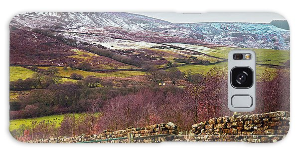 Snowcapped North Yorkshire Moors Galaxy Case