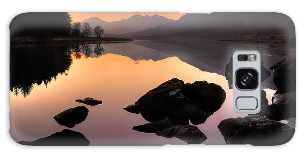 Snowdon At Dusk Galaxy Case