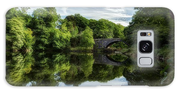 Snowdonia Summer On The River Galaxy Case by Beverly Cash