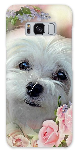 Snowdrop The Maltese Galaxy Case by Morag Bates