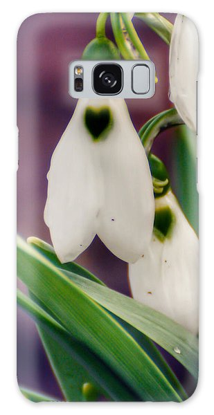 Snowdrops Galaxy Case