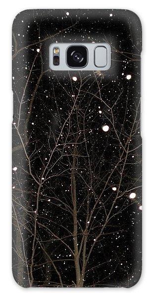 Snowfall Galaxy Case by Carlee Ojeda