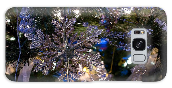 Snowflake On The Tree Galaxy Case by Joanne Smoley