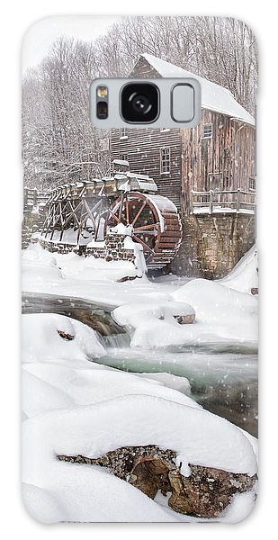Snowglade Creek Grist Mill Galaxy Case