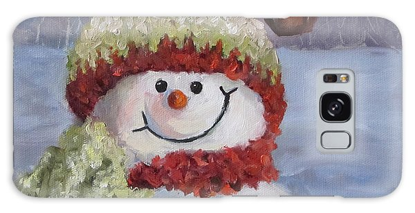 Snowman II - Christmas Series Galaxy Case