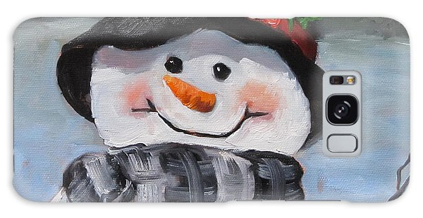 Snowman Iv - Christmas Series Galaxy Case