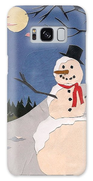 Snowman Galaxy Case by Robin Birrell