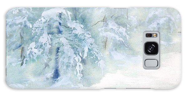 Snowstorm Galaxy Case