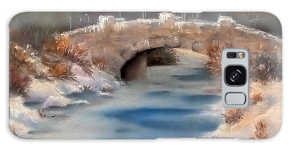 Snowy Bridge Galaxy Case