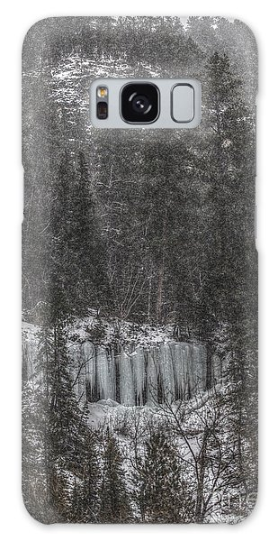 The Snowy Cliffs Of Spearfish Canyon South Dakota Galaxy Case