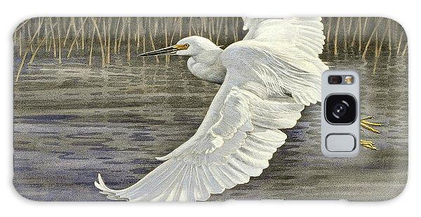 Snowy Egret Galaxy S8 Case