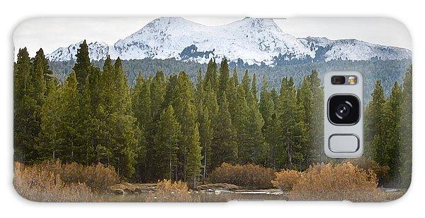Snowy Fall In Yosemite Galaxy Case by David Millenheft