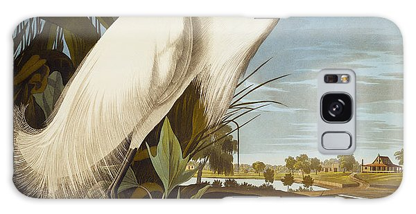 Snowy Heron Or White Egret Galaxy S8 Case