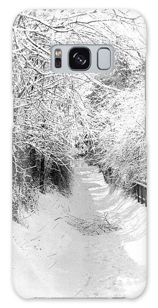 Snowy Lane Galaxy Case