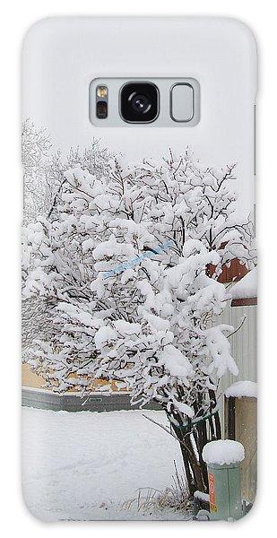 Snowy Lilac Galaxy Case