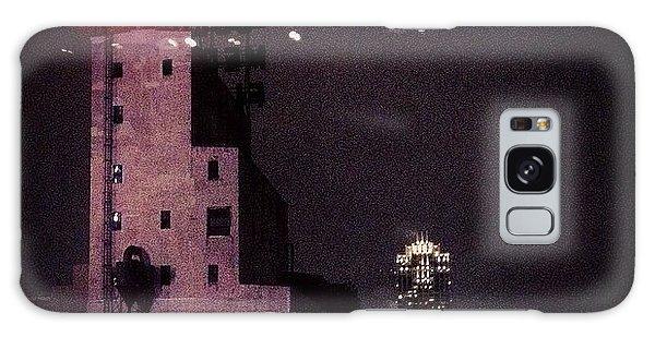 Light Galaxy Case - Snowy Night  by Heidi Hermes