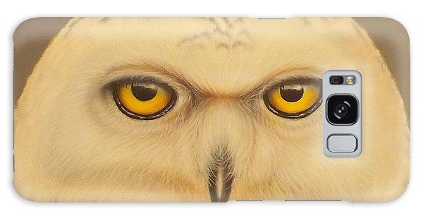 Snowy Owl Galaxy Case by Darren Robinson