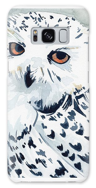 Snowy Owl Galaxy Case
