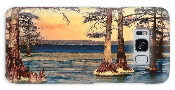 Snowy Reelfoot Galaxy Case