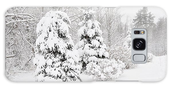 Snowy Snow Storm Galaxy Case
