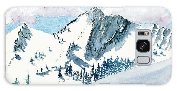 Snowy Wasatch Peak Galaxy Case
