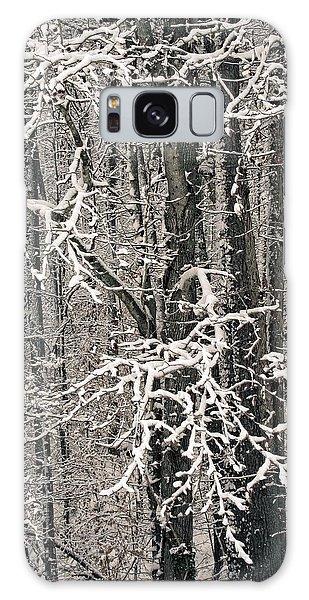 Snowy Woods Galaxy Case