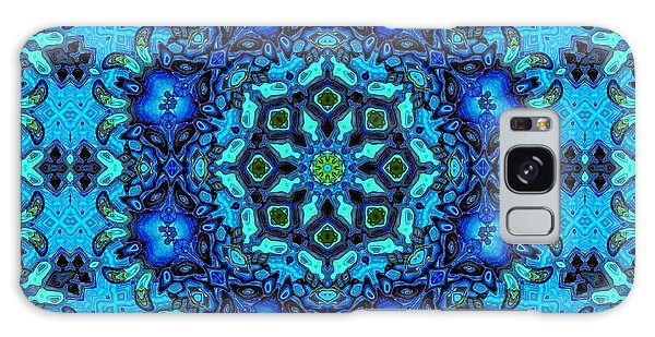 So Blue - 33 - Mandala Galaxy Case