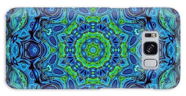 So Blue - 43 - Mandala Galaxy Case