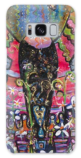 So Happy I Could Kiss The Sun Galaxy Case by Leela Payne