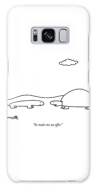 Salamanders Galaxy Case - So Make Me An Offer by Charles Barsotti
