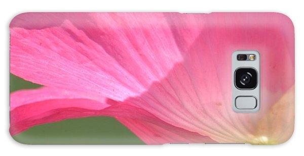 So Pretty Pink Poppy Galaxy Case by P S