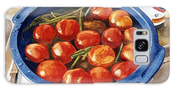 Soaking Tomatoes Galaxy Case