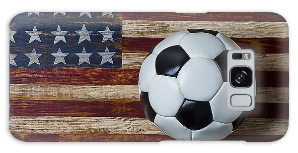 Soccer Ball And Stars And Stripes Galaxy Case
