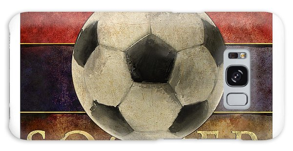 Soccer Poster Galaxy Case