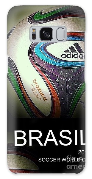 Soccer World Cup Poster 1 Galaxy Case