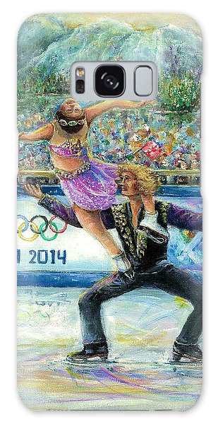 Sochi 2014 - Ice Dancing Galaxy Case by Bernadette Krupa