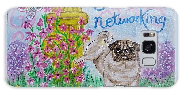 Social Networking Pug Galaxy Case