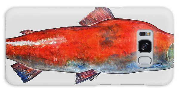 Salmon Galaxy S8 Case - Sockeye Salmon by Juan  Bosco