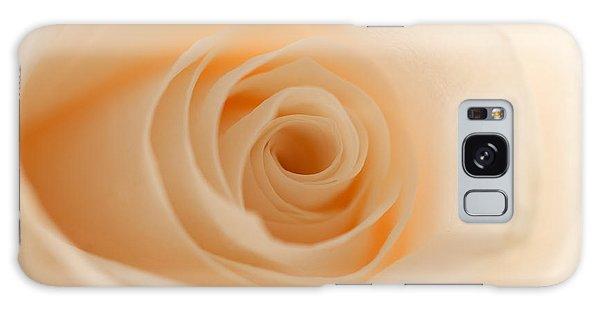 Soft And Creamy Rose Galaxy Case